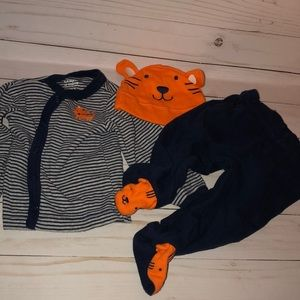 Boys tiger outfit carters